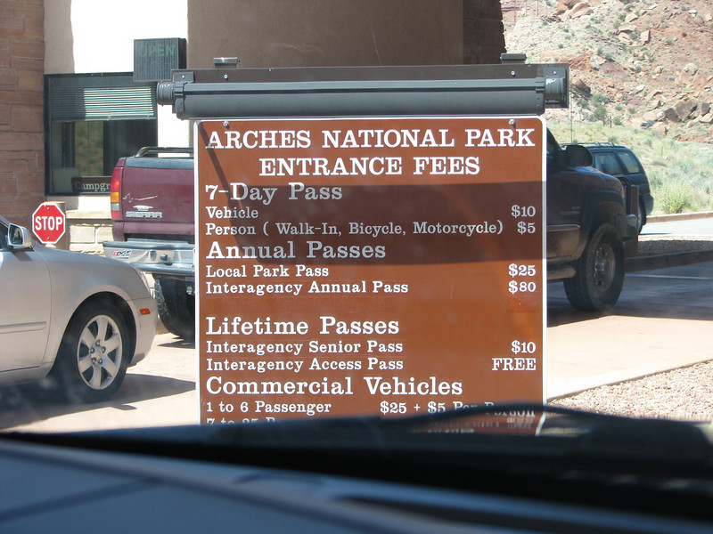 I'm glad we bought the America the beautiful pass while we were in Zion NP.