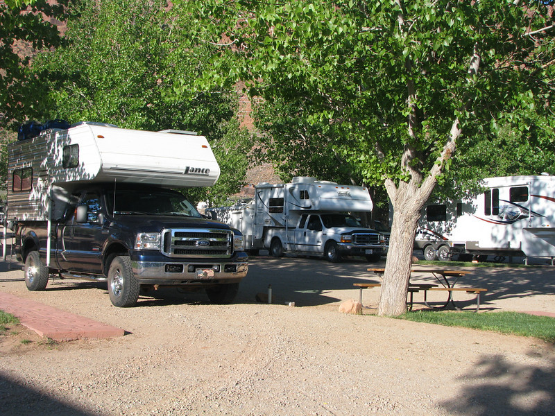 June 07,2008. We stayed overnight at Spanish Trails in Moab and we will be taking in Arches NP today.