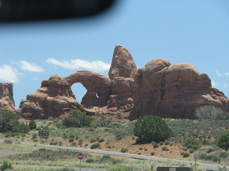 Turret Arch,also viewed from the road.