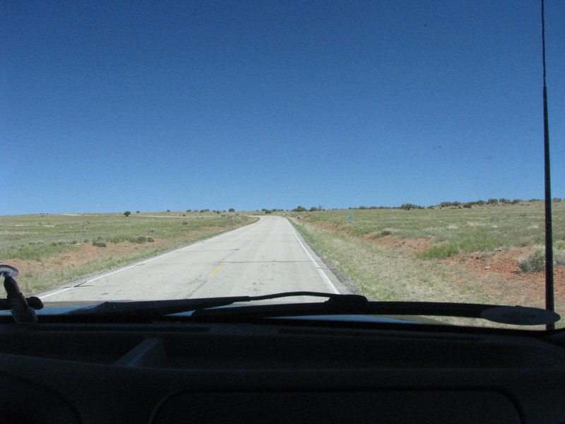Road from Dead Horse to Long Canyon