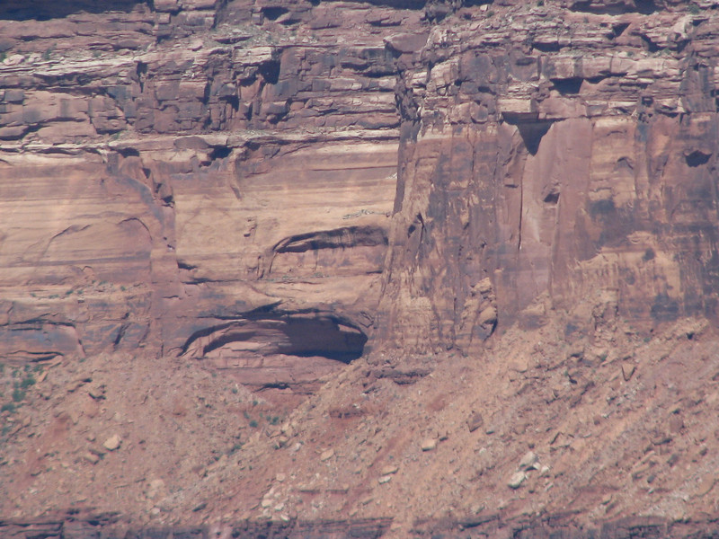 I spotted these two arches on the other side of the vast chasm.