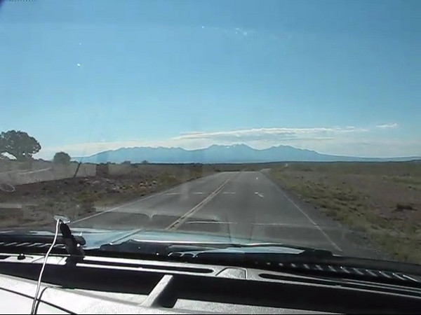 Driving to Dead Horse Point Park.