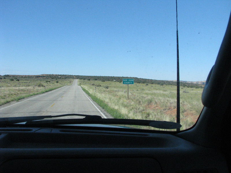 This is the road to Dead Horse, pretty much open terriory til we get closer to the park entrance.