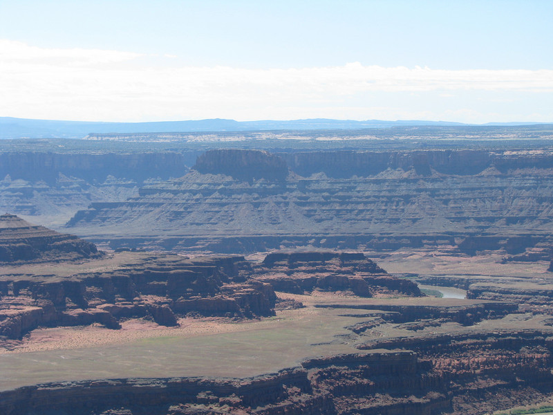 Looking across at the Island in the Ski area of Canyonlands NP.