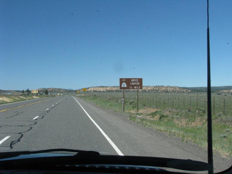 A detour trip inside Bryce NP.