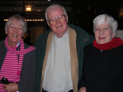 mom, Uncle Arthur Hill (dad's older brother) and friend Cynthia. they live in Reston, VA where my cousin Betsy and her son Stephen also live.