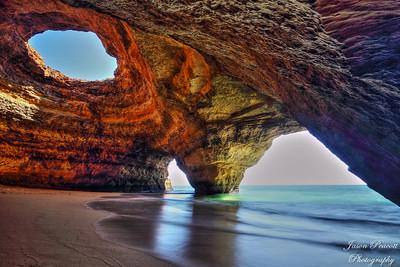 Benagil Sea Cave HDR