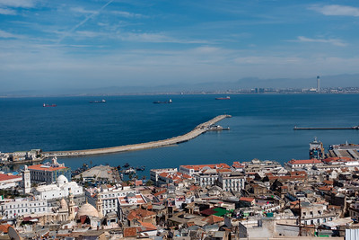Algiers: View from Kasbah