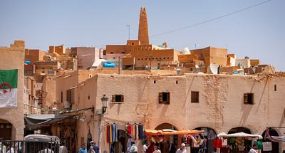 Ghardaia: view from Market Square