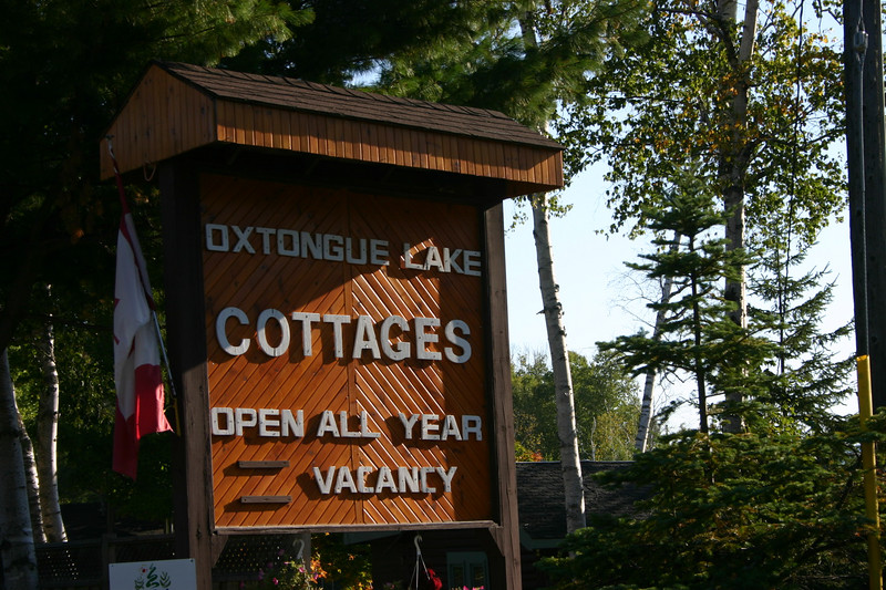 "The start of our ""Algonquin"" vacation was Oxtongue Lake Cottages, located on Highway 60 between Dwight, Ontario and the western boundary of Algonquin Park.  We arrived on Saturday, September 8, 2007 and stayed for six nights."