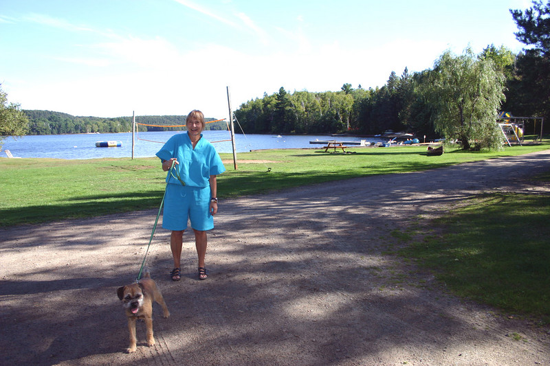We paid $145 per night for the cabin.  As can be seen, dogs are allowed, but there is an additional charge of $10 per night for them.  Dogs must be tied up or on a leash at all time.  I actually discovered the resort from a website that lists pet friendly accommodation.