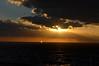 Sunset in Mediterrean