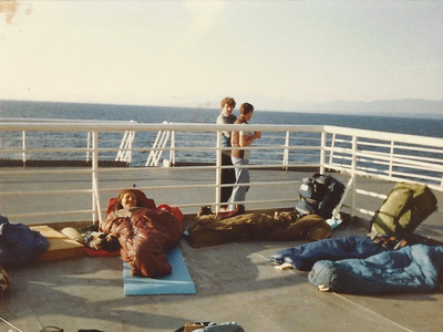 """""""The Sun Deck"""" - I think we were on the Maraspina!"""