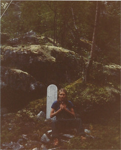 OMG - the caption of this picture (as we start out on the Chilkoot Trail is) - our fate??? ahahahahaha!