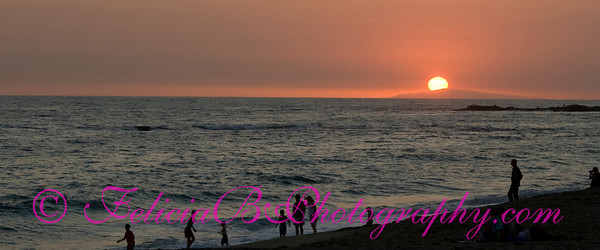 Sunset at Aliso Creek Beach