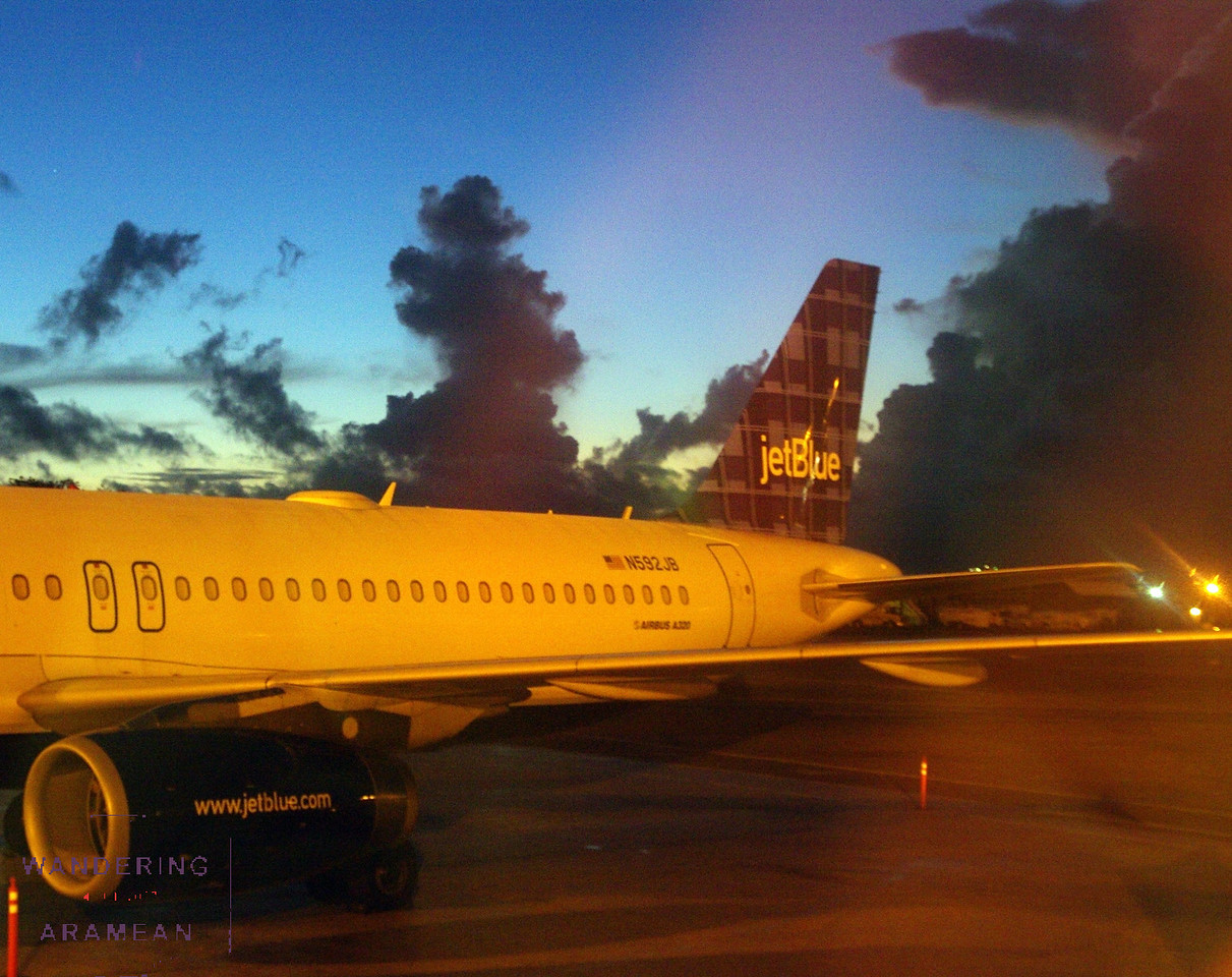 Last sunrise of the adventure, this time in San Juan