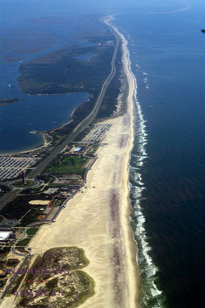 Jones Beach and the Long Island shore