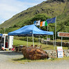 along Killary Fjord - where I got the best oyster of my life!
