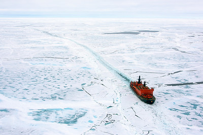 Enroute to the North Pole