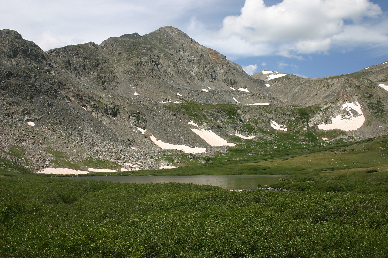 High altitude basin