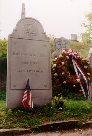 President Calvin Coolidge Vermont