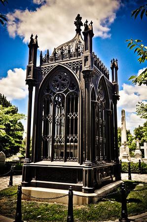 James Monroe's grave