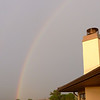 Rainbow in Montrose, CO before heading home