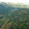 Snowmass Village from the air