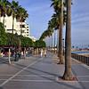 Strandpromenaden i Marbella..