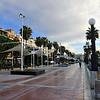 Strandpromenaden i Estepona.
