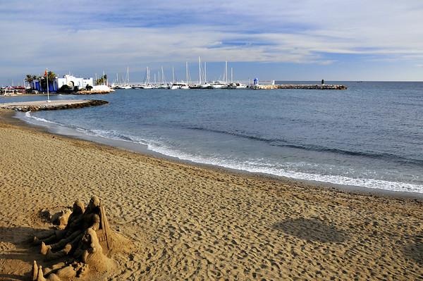 Marbella stranda..