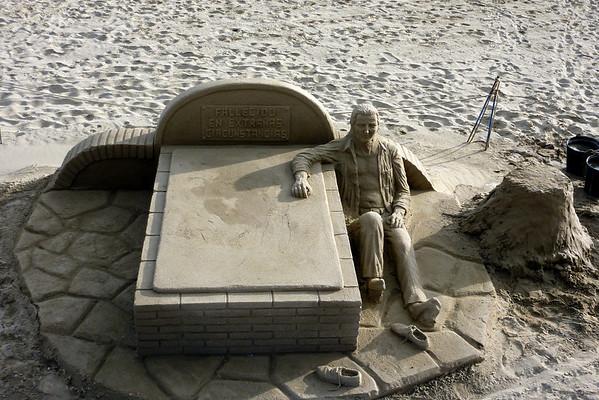 Sandskulpturer foto:Kari