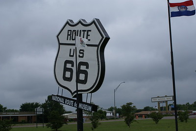At Route 66 Museum OK