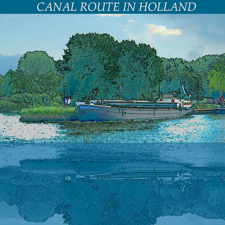 Canal from Amsterdam to Cologne, Germany