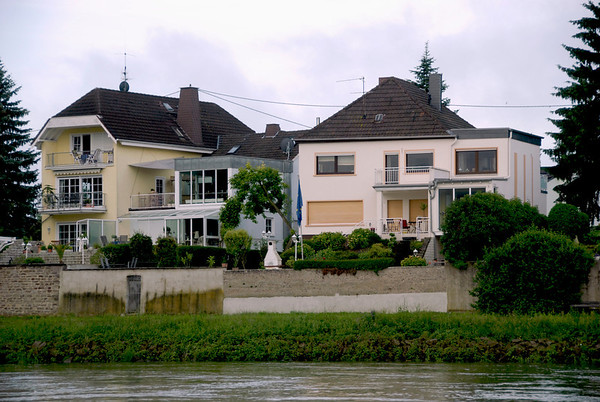 Views along the river from Cologne to Koblenz