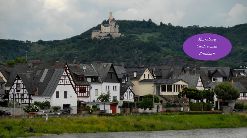 Marksburg Castle near Koblenz, Germany ~ June 2012