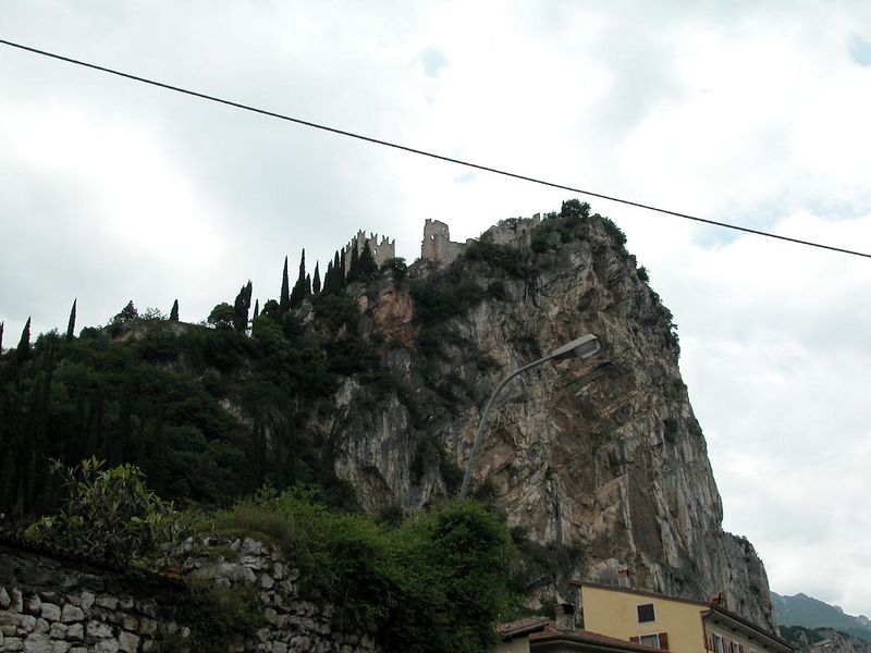 Another shot of the Arco fortress