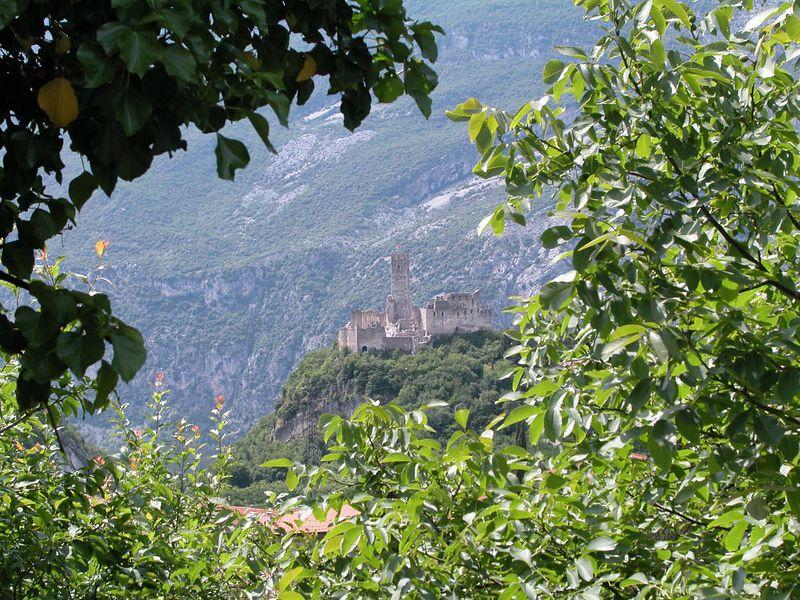 Ruins of a castle near Lasino