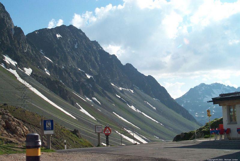 Albulapass in Switzerland