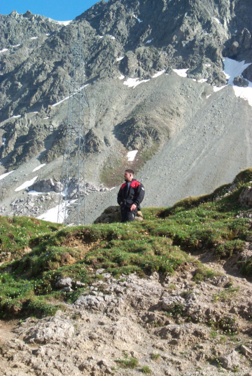 Thomas at Albulapass in Switzerland