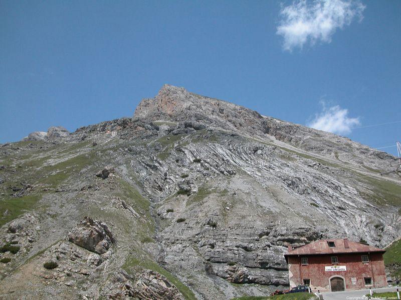 Going into Livigno from Bernina Pass
