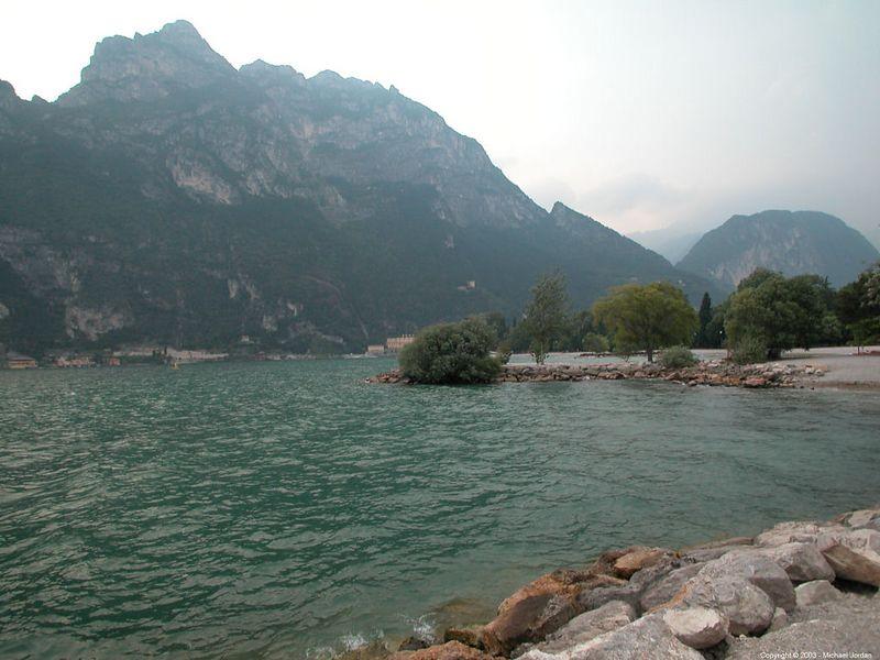 Northern end of Lake Garda