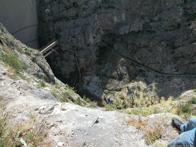 Vajont Dam - site of 1963 disaster