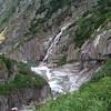 Reuss River gorge leaving Andermatt
