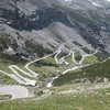 West side of Passo dello Stelvio. Highest and most thoroughly hyped pass in Italy.
