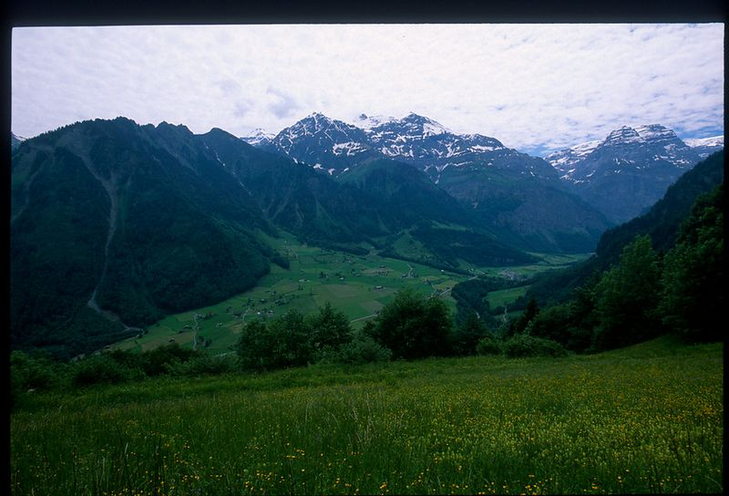 View from the Klausen Pass
