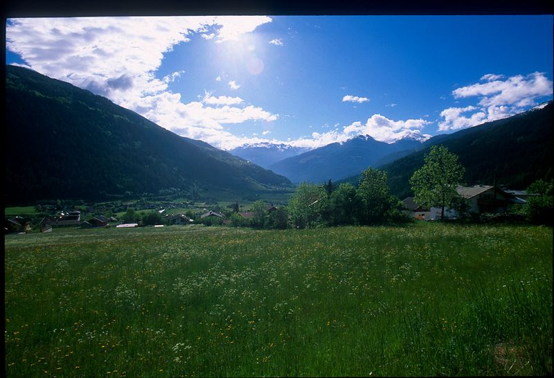 Austrian countryside in Salzburg - find Julie Andrews