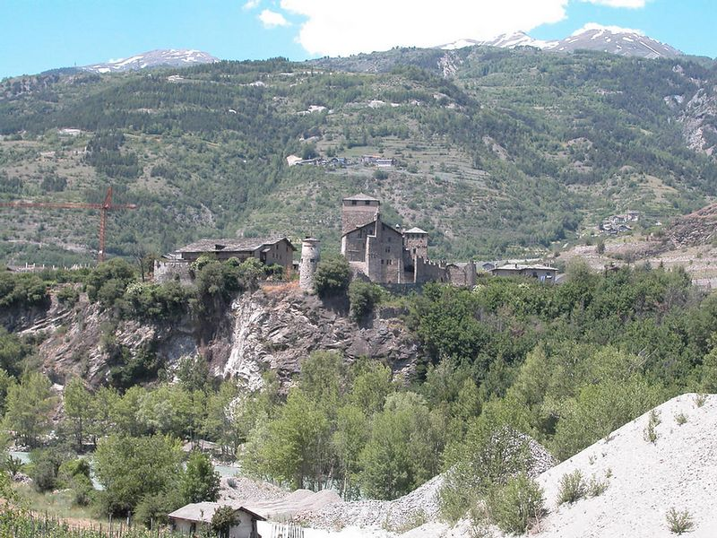 Another castle in the Val D'Aosta
