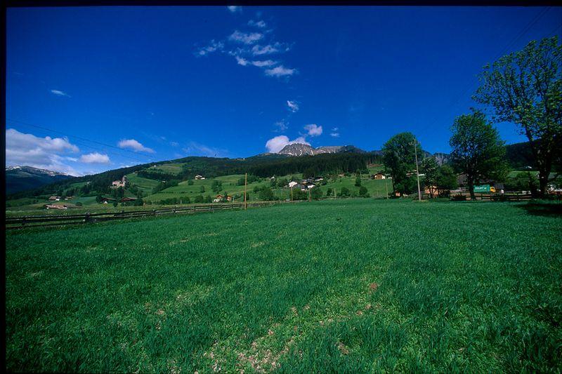 Austrian countryside in Salzburg