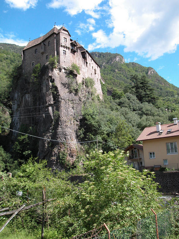 Castle ruins near Bolzano, Italy